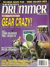 Modern Drummer Magazine - July 2000  - Gear Crazy