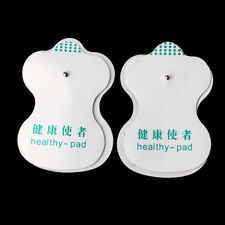 10Pcs Electrode Pads Electric Tens Acupuncture Therapy Massager Healthy Patches