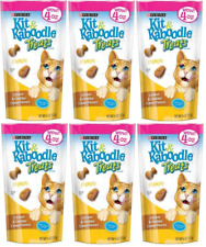 (6 Pack) Purina Kit & Kaboodle Crunchy Chicken & Cheddar Cheese Cat Treats 4 Oz