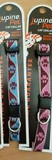 Lupinepet Fabric Cat Safety Collar. Made in USA. See description for stock!