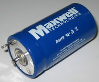 Maxwell 310 F BCAP Ultracapacitor - 2.7 VDC - 62 x 33mm (D Battery Size) 0.31Wh