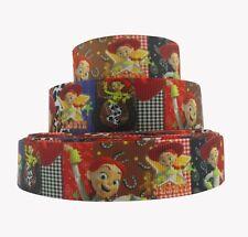 "Bty 1"" Disney Jessie Toy Story Grosgrain Ribbon Hair Bows Scrapbook Lisa"