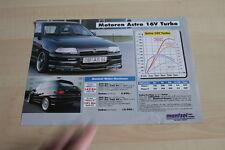 118769) Opel Calibra 4x4 TUrbo Mantzel Motor Prospekt 199?