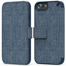 "PureGear Apple iPhone 6 (4.7"") Credit Card Express Folio Case Cover Canvas Blue"