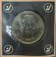 1983 Wayne Gretzky Edmonton Oilers Hockey Dollars Coin Rare NHL