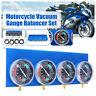 Motorcycle Carb Carburetor Vacuum Balancer Synchronizer Diagnostic Tool 4