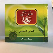 Alghazaleen Sri Lankan High Quality Ceylon 100 Green Tea Bags 7 oz / 200 gm