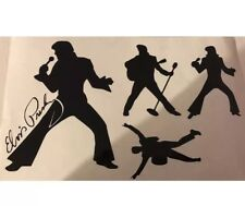 Elvis Presley Vinyl Stickers Car Vehicle Window Decal Cards Silhouette Crafts