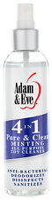 4 IN 1 PURE & CLEAN MISTING ALL PURPOSE SEX TOYS CLEANER USA MADE 118ml