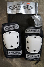 Heavy Duty Inline Skate Elbow Pads, Oxygen Argon Aggressive Adult Small New!