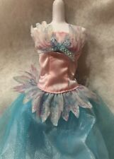 Barbie Doll Fantasy Tales Odette and the swan Pink Blue Dress Replacement