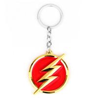 DC Comics The Flash TV Show Metal Enamel Novelty Keyring Keychain Gift Bag