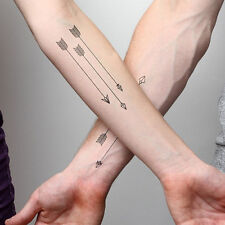 Vogue Waterproof Temporary Tattoos 3D Sex Arrow Design Flash Tattoo Stickers WB