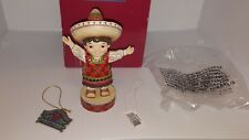 Jim Shore Disney Tradition Welcome to Mexico It's A Small World Figurine 4055421