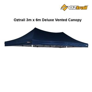 Oztrail Genuine 3m x 6m Deluxe Vented Canopy with Carry Bag Waterproof