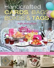 Handcrafted Cards, Bags, Boxes & Tags-Kate MacFadyen