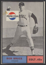 1962 PEPSI PEPSI-COLA ~ HOUSTON COLT .45's ~ BOB BRUCE ~ SHORT PRINT SP