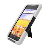 T-Stand Hybrid Phone Cover Case for Straight Talk For ZTE Unico Z930 Z930L