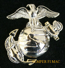 EGA US MARINES CORPS EAGLE GLOBE ANCHOR HAT PIN UP EGA FMF USS MCAS USMC VETERAN