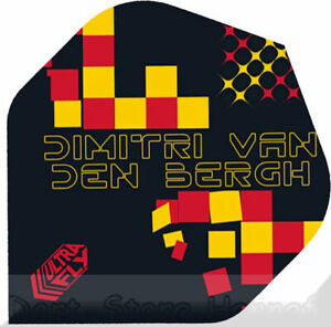 "6 Dart Flights UNICORN ""Dimitri van den Bergh"" Ultrafly"