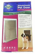 PetSafe Freedom Aluminum Pet Door with Locking Panel X-Large for up to 220lb Dog