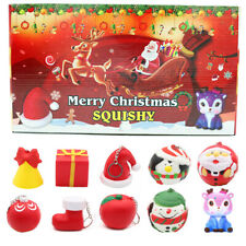 2020 Christmas Countdown Advent Calendar Toy Santa Gift Squeezing Toys for Kids