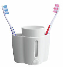 Croydex B-Smart Tooth Brush Toothbrush Holder And Cup Bathroom Accessories