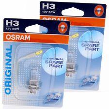 2x H3 OSRAM Original Line OEM 64151-01B Halogenlampe Autolampe Blister Box Set