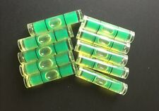 "10 PCs D 8mm L 35mm Acrylic Bubble Spirit Level Vial 5/16"" (D) x 1 3/8"" (L)"