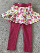 BNWT Pink Leggings & Skirt - 4Years