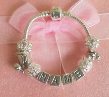 Letters, Numbers Words Rhinestone Costume Charms & Charm Bracelets
