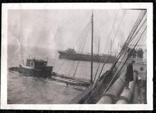 VINTAGE PHOTOGRAPH '25 NEW ENGLAND GAS & COKE COMPANY SHIP ALLENTOWN SINKS PHOTO