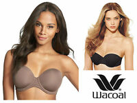 Wacoal Red Carpet Strapless Bra 854219 Black or Cappuccino * New Lingerie