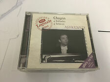 Chopin: Ballades and Scherzos Audio CD 028946649923 MINT