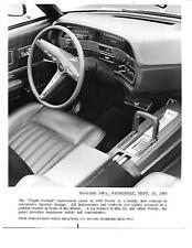 USA  FORD  XL INTERIOR 'FLIGHT COCKPIT'  PRESS PHOTO'brochure related' 1968 1969