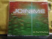 LIGHTFORCE - JOIN ME - 4 tracks version - CD singolo slim case 2000