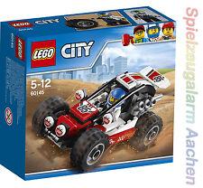 LEGO 60145 City Buggy mit Buggyfahrer Minifigur Auto Car Coche N3/17