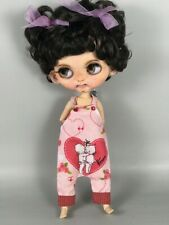 Blythe doll handmade clothes romper pant