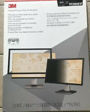"""3M Framed Desktop Monitor Privacy Filter for 20"""" - 20.1"""" Widescree PF200W1F"""