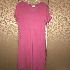 J. Jill NWT Pink Sweet Pea Shift Dress Small S