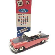 1956 Dodge Custon Royal Promo 1:25 Metal Car w/Jo-han Vintage Box