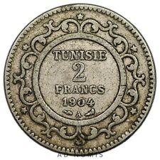 2 francs 1904 A Paris Tunisie - Argent