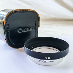 Canon W-60 60mm Lens Hood, Clamp and Case