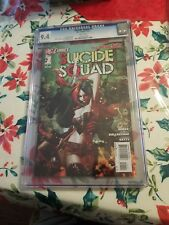 Suicide Squad #1 (DC, New 52) CGC 9.4 White Pages