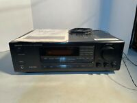 Onkyo AV Receiver Amplifier Tuner Stereo Surround TX-SV424  No Remote W/ Manual