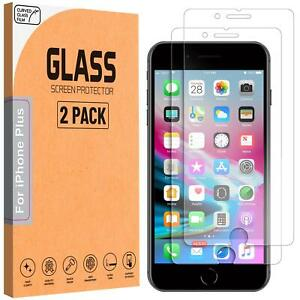For Apple iPhone 8 Plus Tempered Glass Screen Protector Genuine