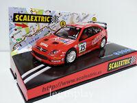 "Slot SCX Scalextric 6097 Citroën Xsara WRC ""Costa Brava 2002"" Nº25"