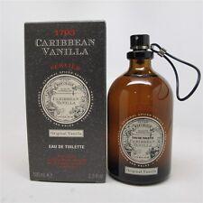 CARIBBEAN VANILLA by 1793 Perlier 100 ml/ 3.3 oz Eau de Toilette Spray NIB
