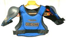 New In Bag Ccm Bsp125 Powerline Hockey Shoulder Pads ~ Blue ~ Size: Boys Medium