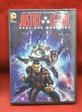 New Sealed Dc Comics Origianl Justice League Gods and Monsters Movie Dvd 5327